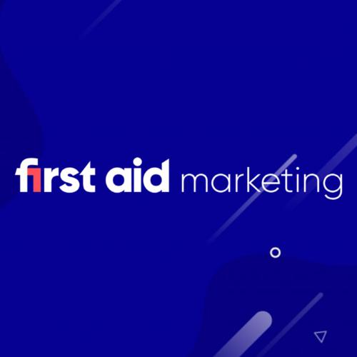 first aid marketing logo