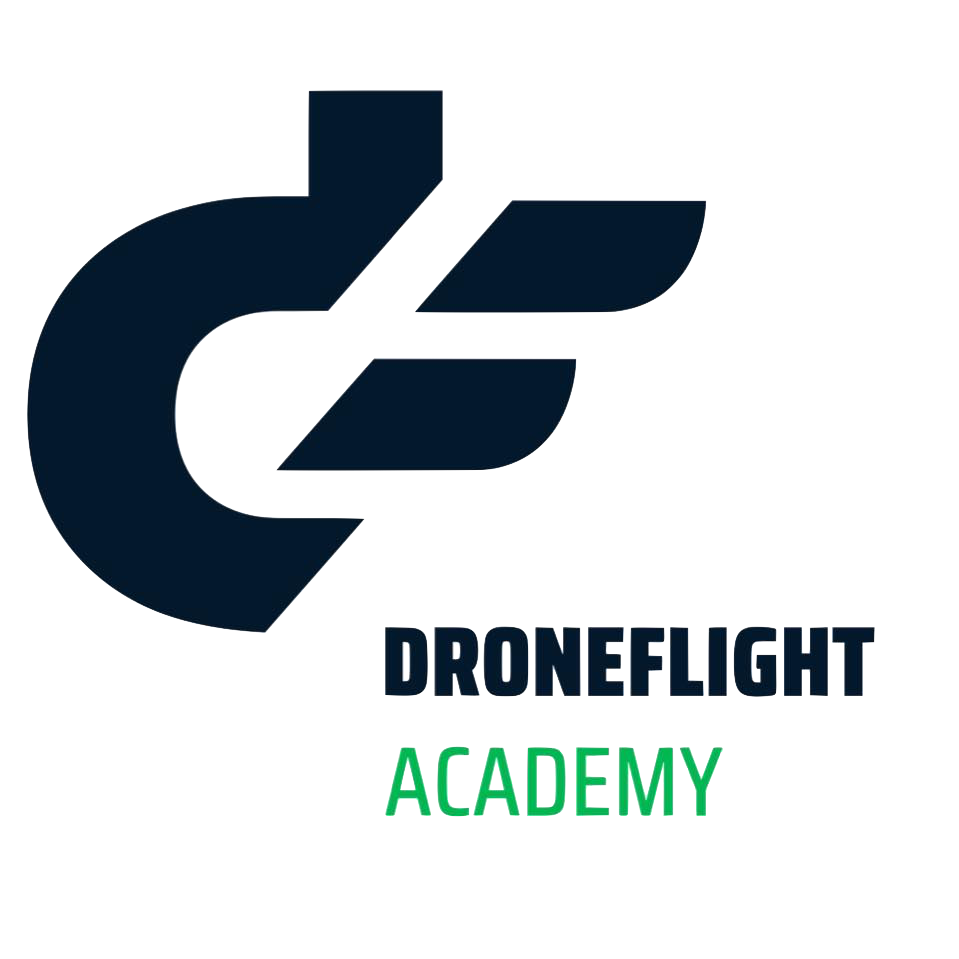 Drone flight academy logo